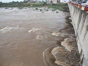 Abu Road - New bridge on West Banas River