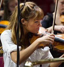 Nicola Benedetti at the Royal Albert Hall