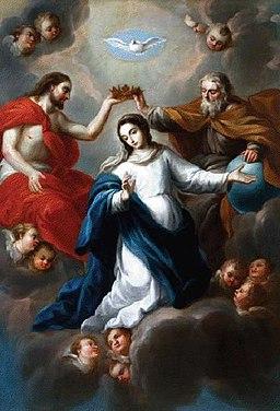 Nicolás Rodríguez Juárez - La Coronación de la Virgen