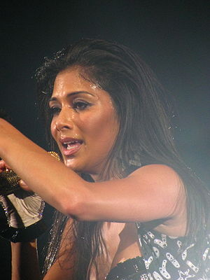 Nicole Scherzinger in The Circus, Mohegan Sun.