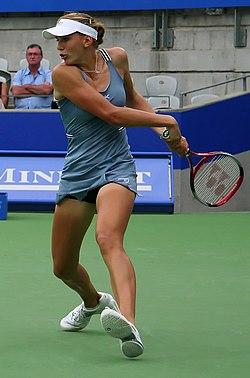 Nicole Vaidišová at the 2006 Medibank International in Sydney, Australia