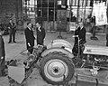 Nieuwe landbouwinstituten (5) Wageningen, gebouwencomplex officiele opening door, Bestanddeelnr 906-8107.jpg