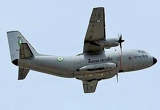 Nigerian Air Force - An NAF Alenia G-222