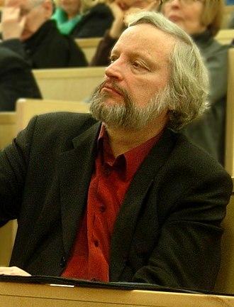 Ilkka Niiniluoto - Niiniluoto listening to a debate in 2007