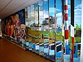Nijmegen Heyendaalseweg 239 Roomsch Leven, versiering gang (02).JPG