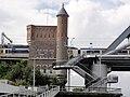 Nijmegen rijksmonument 333577 Landhoofd spoorbrug.JPG