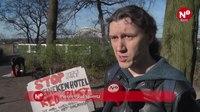 File:Nijmegenaren protesteren tegen donjon.webm