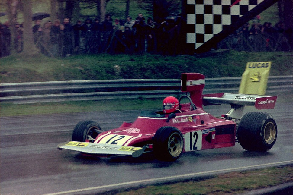 Niki Lauda 1974 Race of Champions 2