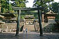 Nikko toshogu torii and yomeimon gate.jpg
