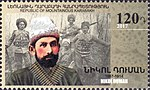 Nikol Duman 2017 stamp of Artsakh.jpg
