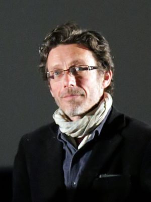 Nils Tavernier - Tavernier at the premiere of De toutes nos forces, 2014