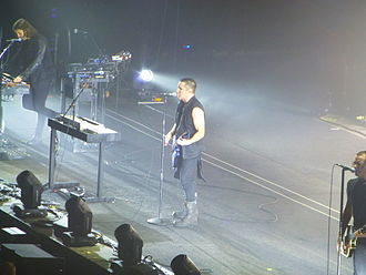 Twenty Thirteen Tour - Trent Reznor performing with Nine Inch Nails in Manchester, May 2014.