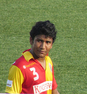 Nirmal Chettri Indian footballer