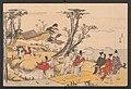 Nishikizuri onna sanjūrokkasen-Courtiers and Urchins, frontispiece for the album Brocade Prints of the Thirty-six Poetesses MET JIB5 005.jpg