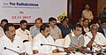 Nitin Gadkari and the Chief Minister of Tamil Nadu, Shri Edappadi K. Palaniswami at a joint press conference after reviewing projects in the state, in Chennai.jpg