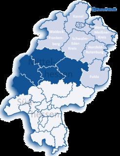 Kassel (region) Regierungsbezirk in Hesse, Germany