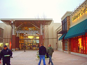 Freehold Raceway Mall - Entrance to the Freehold Raceway Mall, seen from the 2007 Lifestyle Center addition