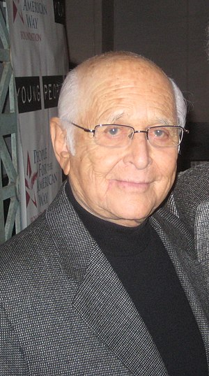 American TV writer and producer Norman Lear.