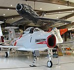North American FJ-2 & FJ-4 Fury, Naval Aviation Museum, Pensacola.jpg