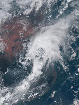 July 2016 North China cyclone - Image: North China cyclone 2016 07 20 0530Z