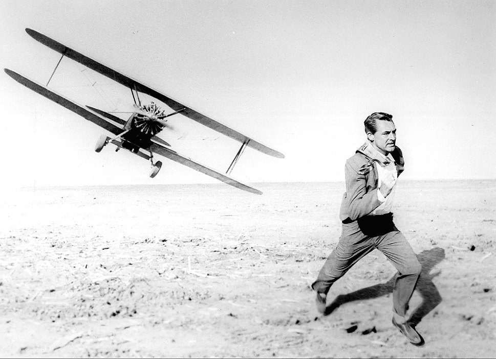North by Northwest Cary Grant airplane chase