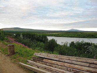 Nizhnekolymsky District - View from Northeast Science Station, Nizhnekolymsky District