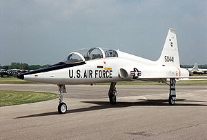 38th Combat Support Wing - T-38 Talon advanced trainer