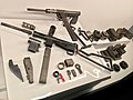Norway's WW2 Resistance Museum, Oslo (Hjemmefrontmuseet). Illegal handmade arms - Stengun (detail from exhibition). Photo 2017-11-30 b.jpg