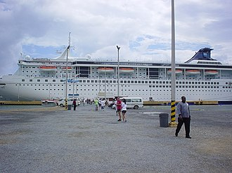SuperStar Libra - Norwegian Sea in Roatan, Honduras.