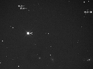 Nova - Image: Nova Eridani 2009 LB4