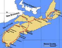 towns and former cities in nova scotia