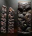 Nuova zelanda, maori, elementi di magazzini rialzati, 1850 ca..JPG