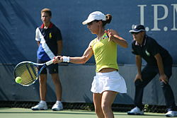 Nuria Llagostera Vives at the 2010 US Open 01.jpg