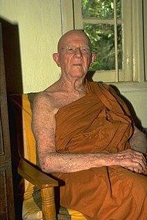 Nyanaponika Thera German Buddhist monk