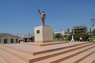 Dodoma - Nyerere Square.