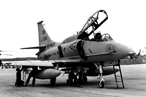 Marine Aircraft Group 32 - OA-4M Skyhawk of MAG-32 in 1990