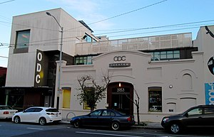 ODC/Dance - The ODC Theater at 3153 17th Street on the corner of Shotwell Street in the Mission District of San Francisco. The ODC Dance Commons is around the corner at 351 Shotwell Street.