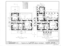 Oaks Place, 808 Maysville Road, Huntsville, Madison County, AL HABS ALA,45-HUVI.V,1- (sheet 1 of 4).png