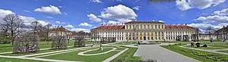1704 in architecture - Schleissheim Palace