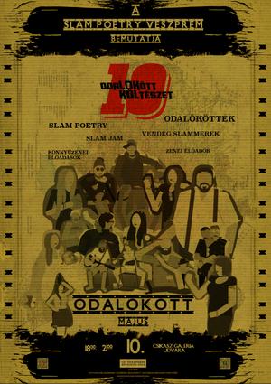 10. születésnap plakát
