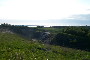 Ølsted, Halsnæs Municipality - Gravel pit with Roskilde Fjord
