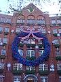 Office building Euston garland Christmas.JPG