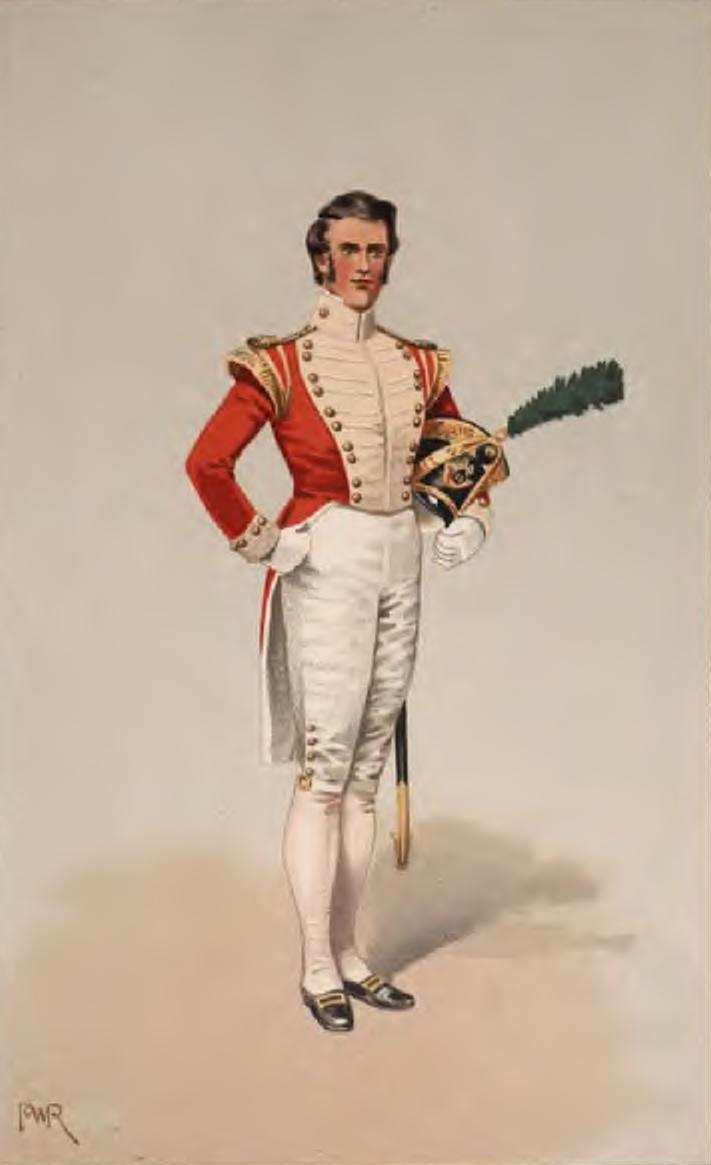 Officer light company 40th reg of foot 1826