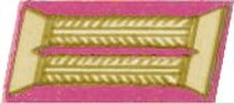 Corps colours of the German Army (1935–1945) - Image: Offizier im Generalstab Kolbenstickerei (Oberkommando)