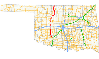 Oklahoma State Highway 58 highway in Oklahoma