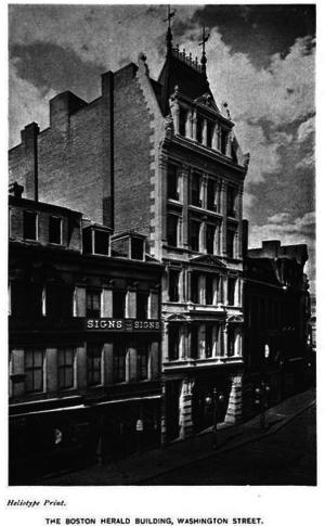 Boston Herald - The old Herald headquarters at 255 Washington Street (built 1878)