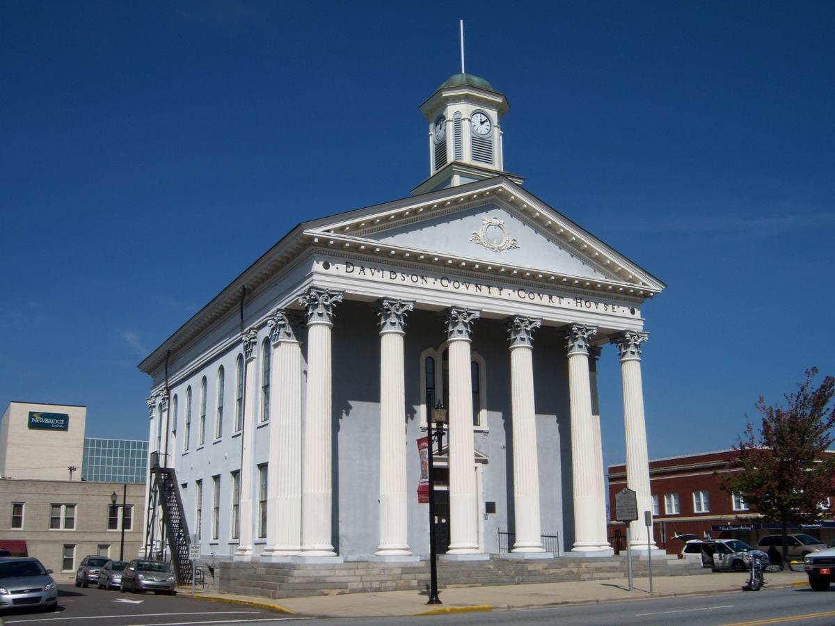 Old Davidson County Courthouse (North Carolina) - Wikipedia
