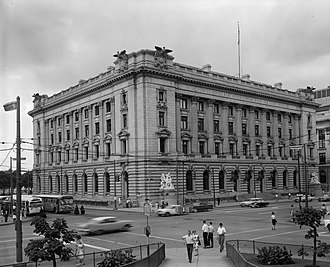 Arnold W. Brunner - Image: Old Federal Building and Post Office, Cleveland