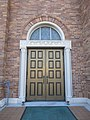 Old Jefferson Jefferson Parish Louisiana Jan 2018 St Agnes Door.jpg