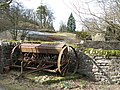 Old farm machinery near the Allenheads Inn - geograph.org.uk - 721821.jpg